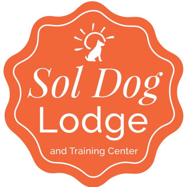 AGR Foundation, Inc. (Sol Dog Lodge and Training Center) (Tucson, Arizona) logo with dog and sunshine