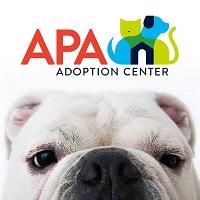 Animal Protective Association of Missouri (St. Louis) logo with cat and dog