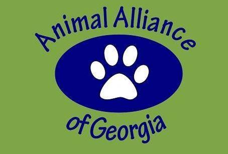 Animal Alliance of Georgia Inc (Duluth, Georgia) logo with paw print