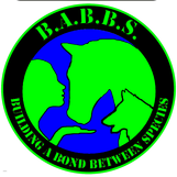 Building A Bond Between Species (Clarkston, Washington) logo of a woman with a horse and dog