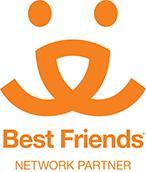 Second Chance Pet Adoption League (Oak Ridge, New Jersey) logo is the Best Friends Network Partner logo