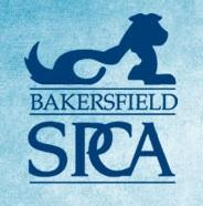 Bakersfield SPCA (Bakersfield, California) logo with dog and cat