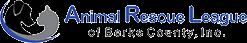 Animal Rescue League of Berks County (Birdsboro, Pennsylvania) logo with cat, dog