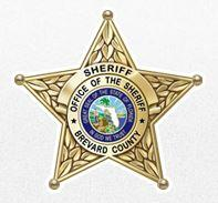 Brevard County Animal Services (Melbourne, Florida) logo is a Brevard County Sheriff's badge