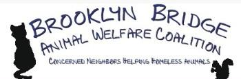 Brooklyn Bridge Animal Welfare Coalition, Inc (Brooklyn, New York) logo cat and squirrel