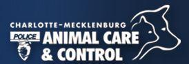 Charlotte-Mecklenburg Animal Care & Control (Charlotte North Carolina) logo with dog & cat