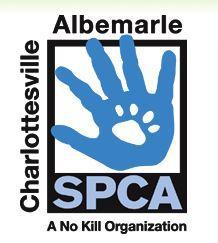 Charlottesville-Albemarle SPCA (Charlottesville, Virginia) logo of hand and pawprint