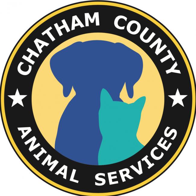 Chatham County Animal Services (Savannah, Georgia) logo dog cat in circle