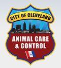 City of Cleveland Animal Care and Control (Cleveland, Ohio) logo is a badge with the cityscape and organization name