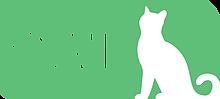 Community Cat Allies (Marina, California) logo with white cat on green background