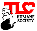 The Dahlonega Lumpkin County Humane Society (Dahlonega, Georgia) | logo of white dog, black cat, red text TLC humane society