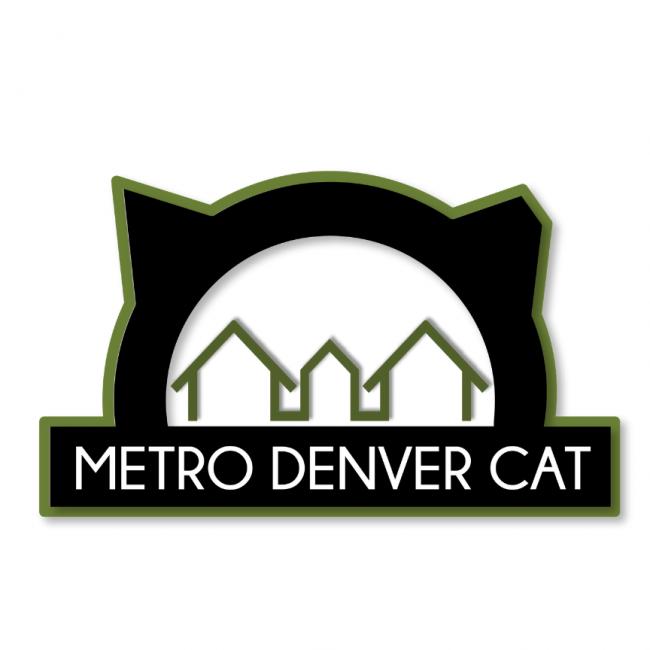 Denver Animal Foundation (Denver, Colorado) logo houses in cat head