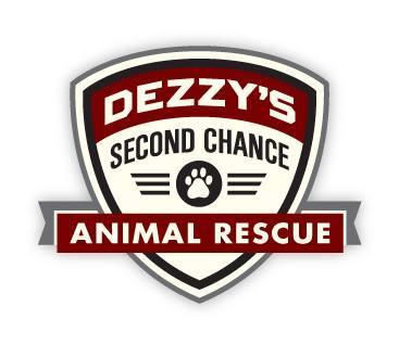Dezzy's Second Chance Animal Rescue, Inc. (Ocean Ridge, Florida) logo pawprint in badge