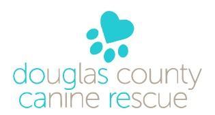 Douglas County Canine Rescue (Castle Rock CO 80104, Colorado) logo pawprint
