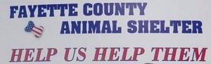 Fayette County Animal Control (Peachtree City, Georgia) logo with organization name & Help Us Help Them tagline