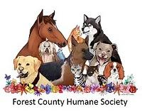 Forest County Humane Society (Crandon, WIsconsin) logo