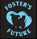 Foster's Future (Hazlet, New Jersey) logo is black and teal with a dog and cat inside hearts