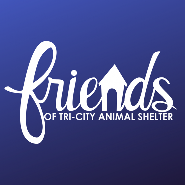 Friends of Tri-City Animal Shelter (Duncanville, Texas) logo with house in text