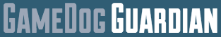 Game Dog Guardian Rescue (Lawrence, Kansas) logo with blue/green box