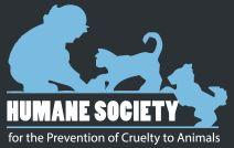 The Humane Society for the Prevention of Cruelty to Animals (Columbia, South Carolina)   logo of blue child, blue cat, blue dog