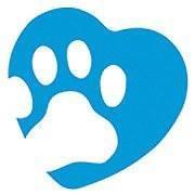MSPCA – Angell (Boston, Massachusetts) logo of blue heart and white paw