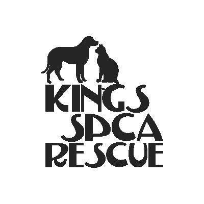 Kings SPCA Rescue (Lemoore, California) logo of dog and cat