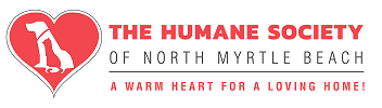 The Humane Society of North Myrtle Beach (North Myrtle Beach, South Carolina)   logo of red heart, white dog, red cat