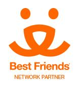 Salem County Humane Society (Penns Grove, New Jersey) logo is the Best Friends Network Partner logo