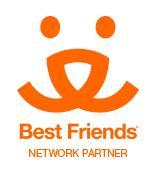 RescueCats (Fayetteville, Georgia) logo is the Best Friends Network Partner logo