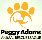 Peggy Adams Animal Rescue League (West Palm Beach, Florida) of paw print, circle, dog, cat, peggy adams animal rescue