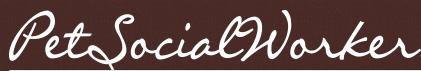 Pet Social Worker / Tails of Hope (Maricopa, Arizona) logo of handwritten Pet Social Worker