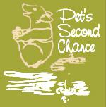 Pet's Second Chance for Life (St. Louis, Missouri) logo of corgi, silhouette, pet's second chance
