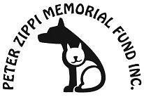 The Peter Zippi Memorial Fund (Hermosa Beach, California) | logo of white dog, cat, The Peter Zippi Memorial Fund Inc.