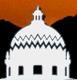 Pima Animal Care Center (Tucson, Arizona) logo of mountains, white building, windows, Pima County