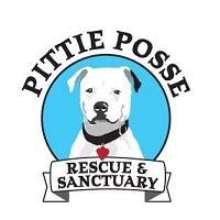 Pittie Posse Rescue and Sanctuary (Saco, Maine) logo