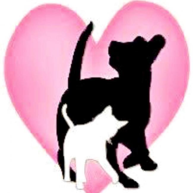 Prevent Homeless Pets (Benton City, Washington) logo dog and cat in heart