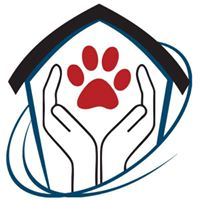 Second Chance Shelter (Boaz, Alabama) | logo of two hands cupping red heart, black house, circle, second chance shelter