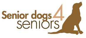 Senior Dogs 4 Seniors (Chesterfield, Missouri)   logo of brown dog sitting, Senior Dogs 4