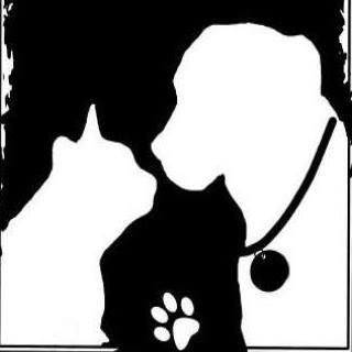 South Jersey Regional Animal Shelter (Vineland, New Jersey) | logo of black square, white dog, collar, white cat, paw print