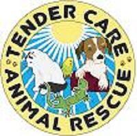 Tender Care Animal Rescue (Vancouver, Washington) | logo of circle, sun, dog, cat, bird, lizard, Tender Care Animal Rescue