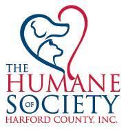 The Humane Society of Harford County, Inc. (Fallston, Maryland) logo dog cat heads in heart