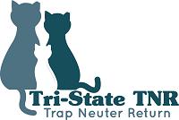 Tri-State Spay & Neuter (Ashland, Kentucky)   logo of three cats with Tri-State TNR Trap Neuter Return