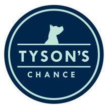 Tyson's Chance Animal Foundation (Shelbyville, Kentucky) | logo of blue navy circle, blue dog head, text Tyson's Chance