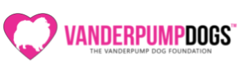 Vanderpump Dog Foundation, (Los Angeles, California) logo pink heart with white dog silhouette and pink and black text