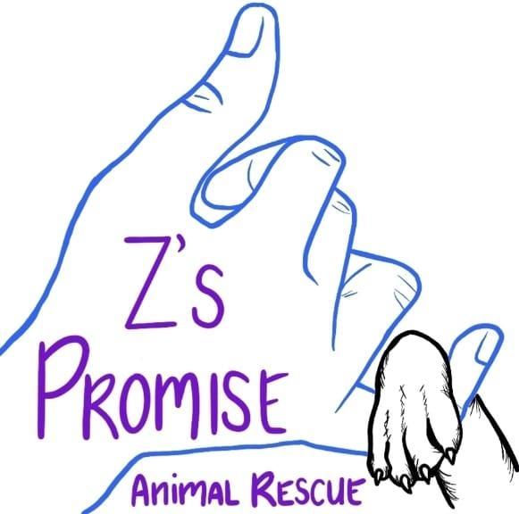 Z's Promise Animal Rescue (Las Vegas, Nevada) logo paw around human hand