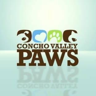 Concho Valley PAWS (San Angelo, Texas) logo dog cat pawprint heart