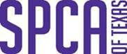 SPCA of Texas (Dallas, Texas) | logo SPCA of Texas words in purple with white background
